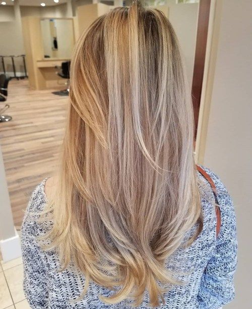 dugo Bronde Hair With Layers