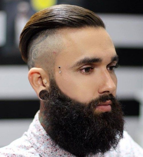 dugo top shaved sides and beard