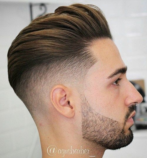 Taper Cut and Pompadour