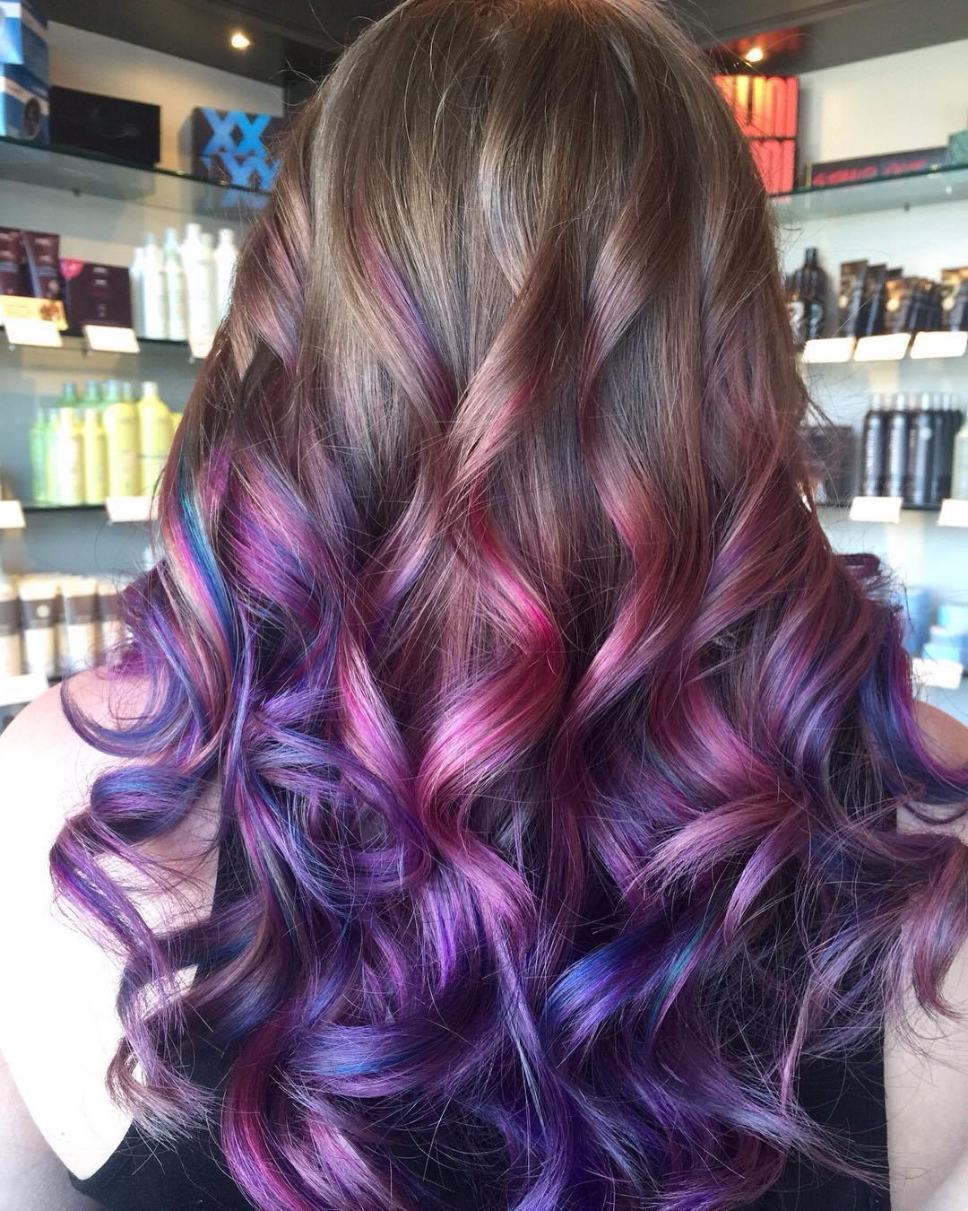 Tamsus Blonde To Purple Ombre