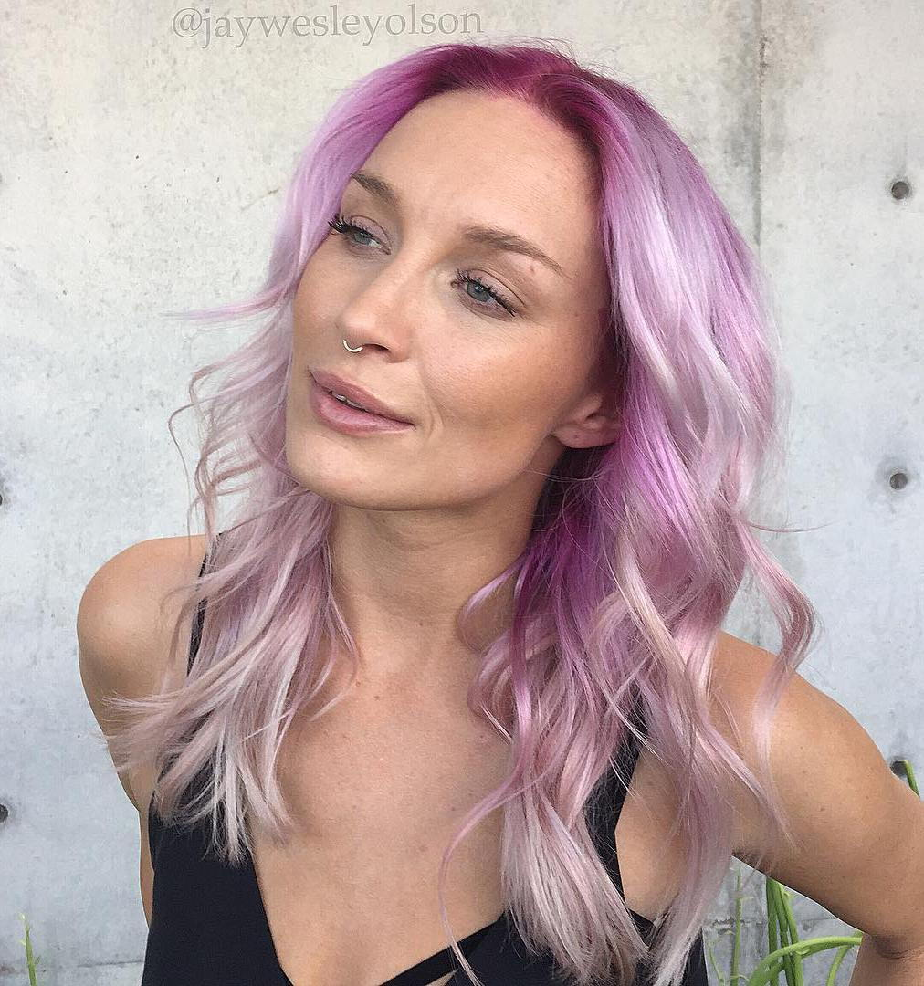 Pastelė Pink Hair Color