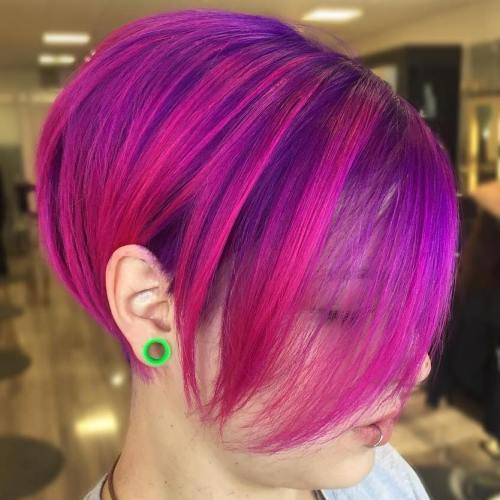 Violetinė and Magenta Bob