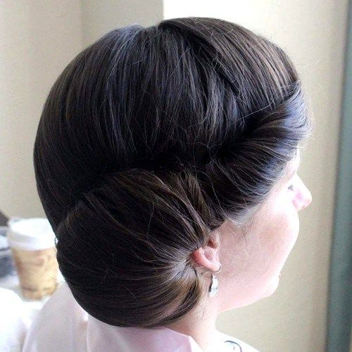 berba side updo for prom