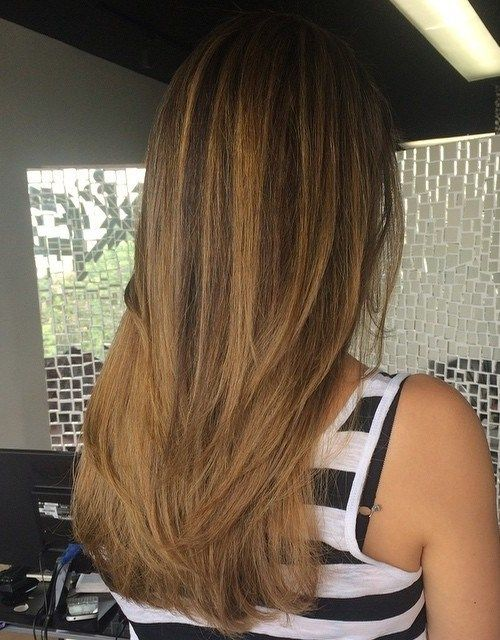 tamsi brown to light golden brown ombre