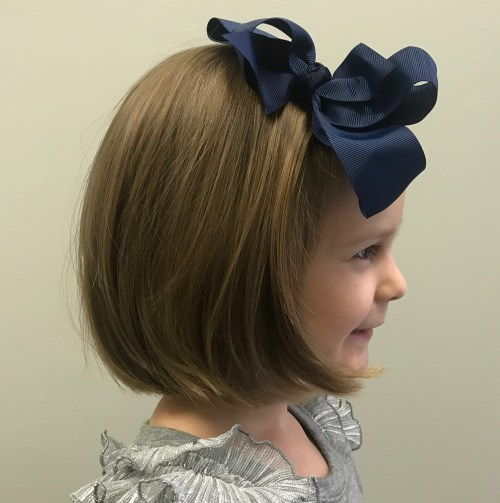 Smuk Bob Hairstyle For Little Girls