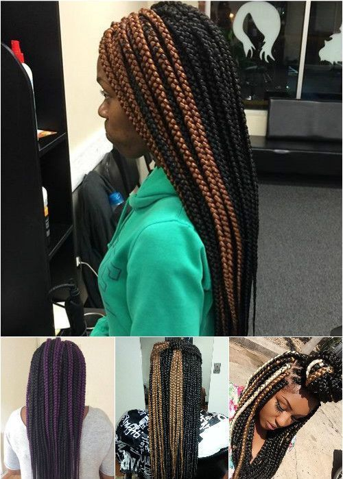 kutija braids with highlights