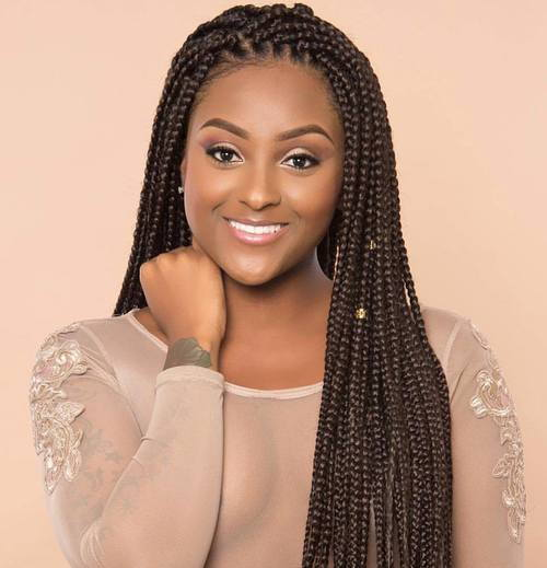 dugo Brown Box Braids