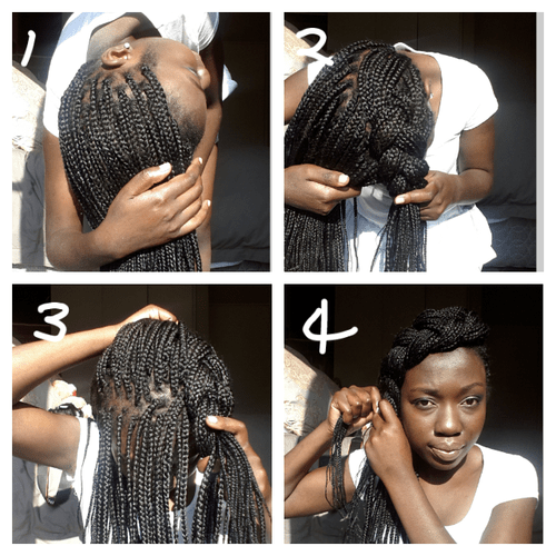 Exquisite Braid In 4 Simple Steps