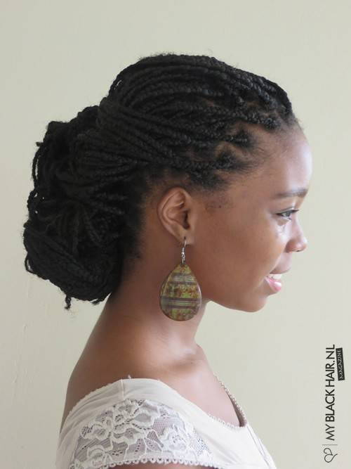 frizure for box braids