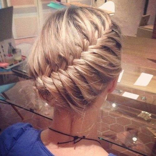 אֲלַכסוֹנִי Braid Updo