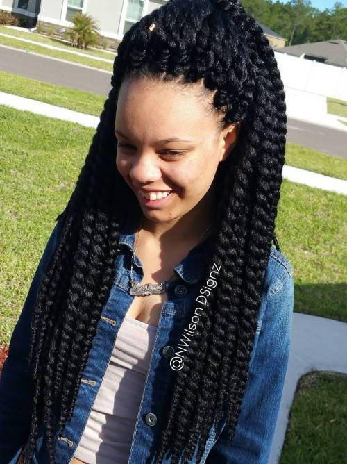 Long Chunky Twists