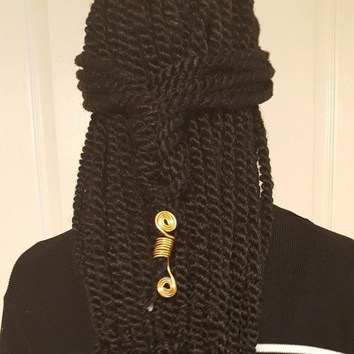 cute half up hairstyle for black twists
