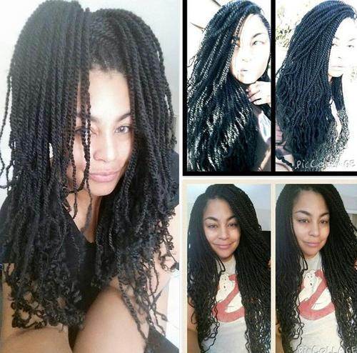 skinny twists for black women