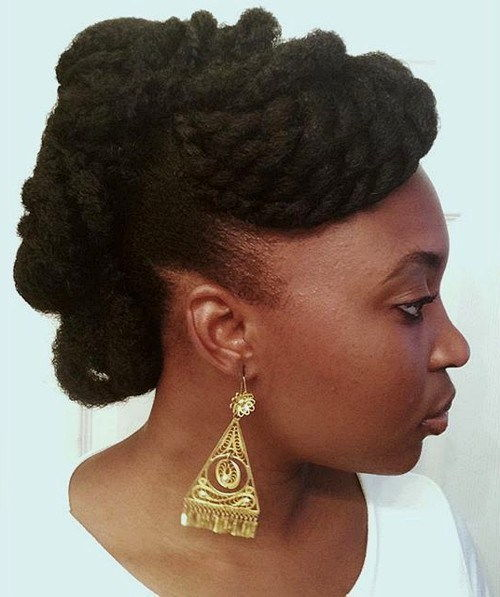 uvrnut updo for natural hair