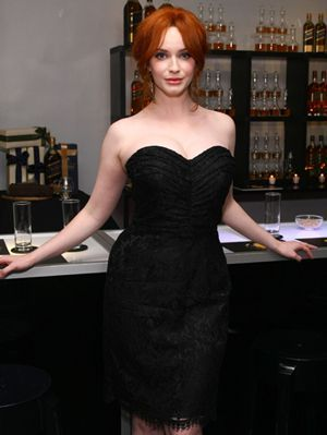 Christina hendricks and johnnie walker