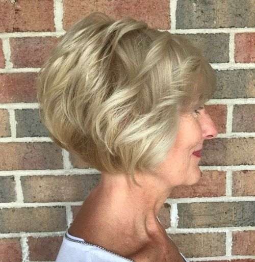 Pepeo Blonde Wavy Bob Over 60