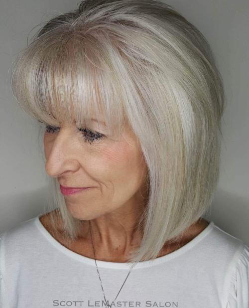 Ravno Silver Bob With A Fringe