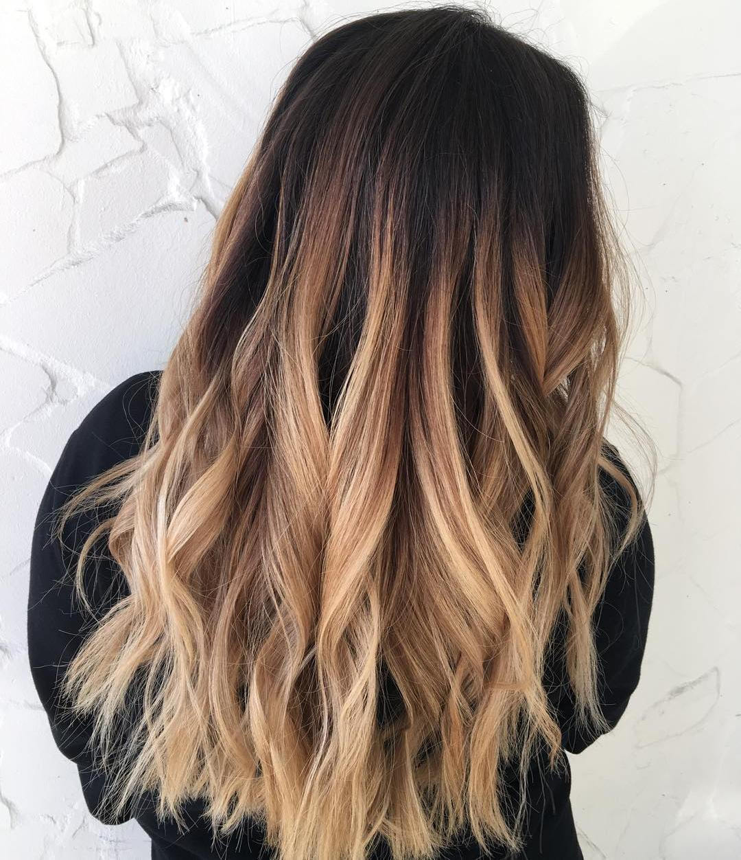 Tamsus Brown To Sandy Blonde Ombre