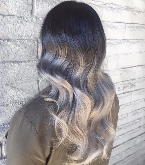 Pilka Ombre For Black Hair