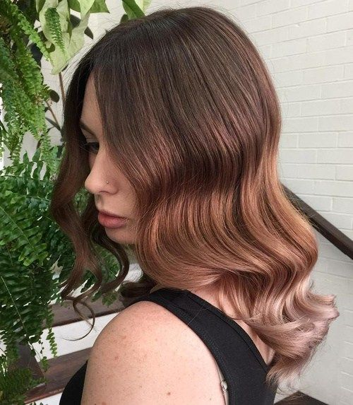 Tri-Color Brown Ombre Hair