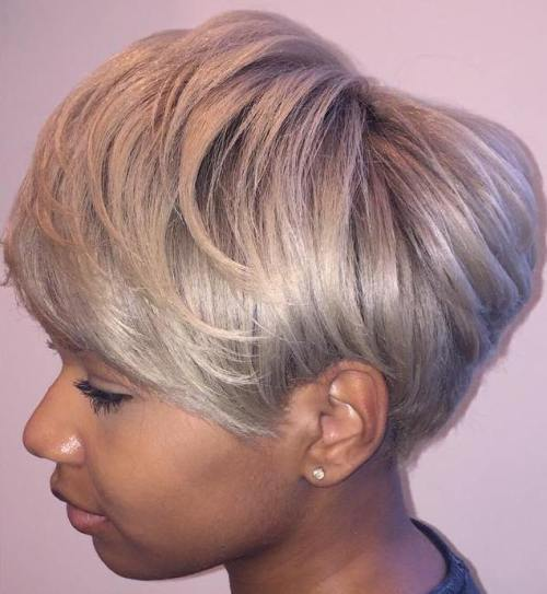 Pepeo Blonde Pixie Bob For Black Women