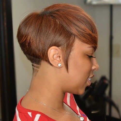 Kratak Tapered Hairstyle For Black Women