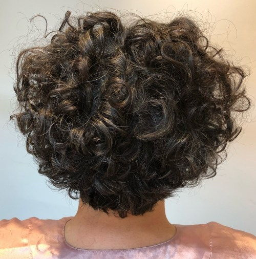 Kort Tapered Haircut For Curly Hair