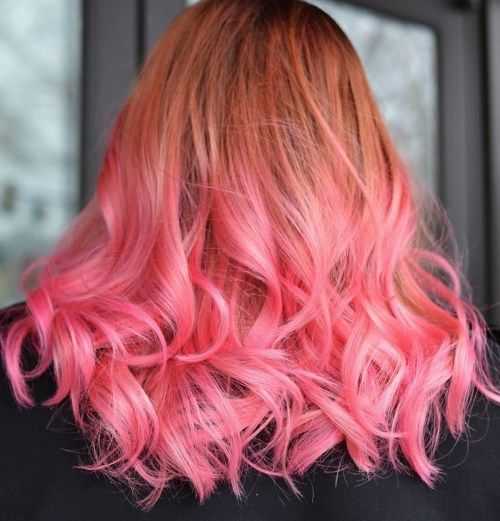 varis to pastel pink ombre