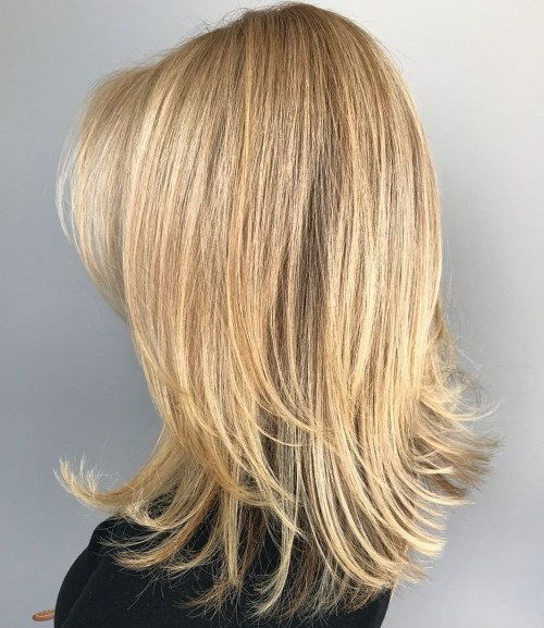 Vidutinis To Long Hair With Long Layers