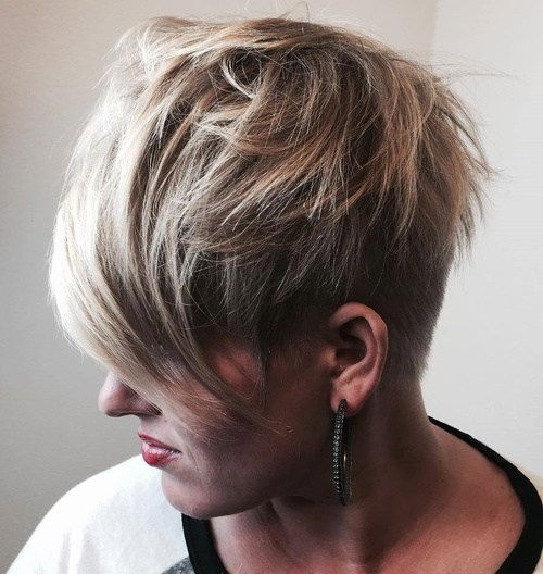 Edgy Pixie Cut With Bangs