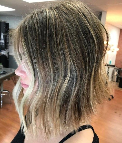 uzburkan Lob With Subtle Balayage