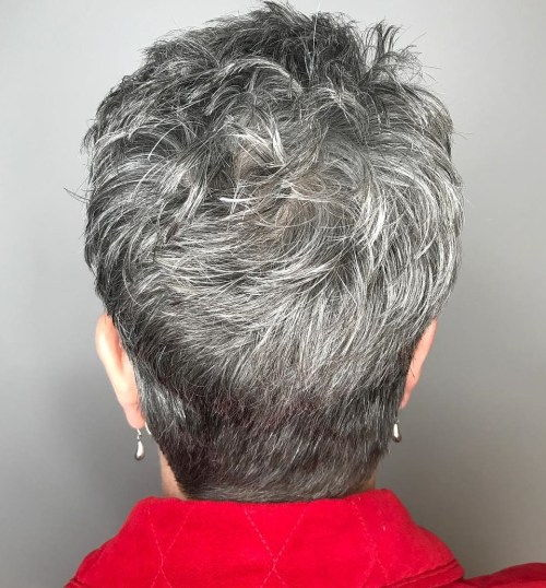 Trumpa Choppy Cut For Women Over 50