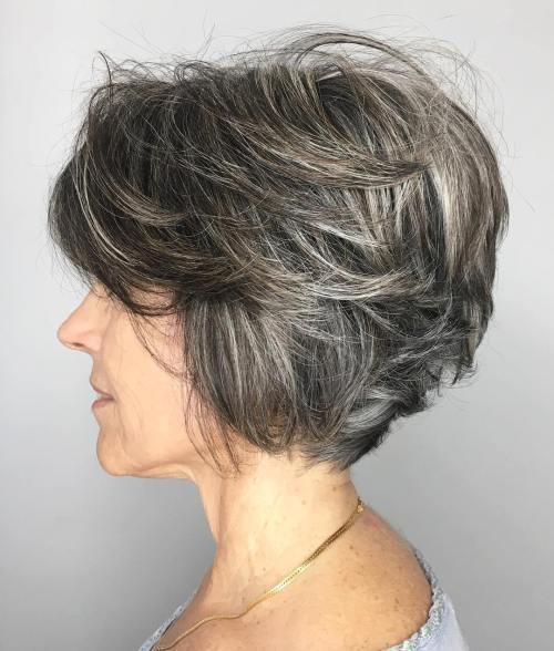 Trumpa Textured Hairstyle Over 50