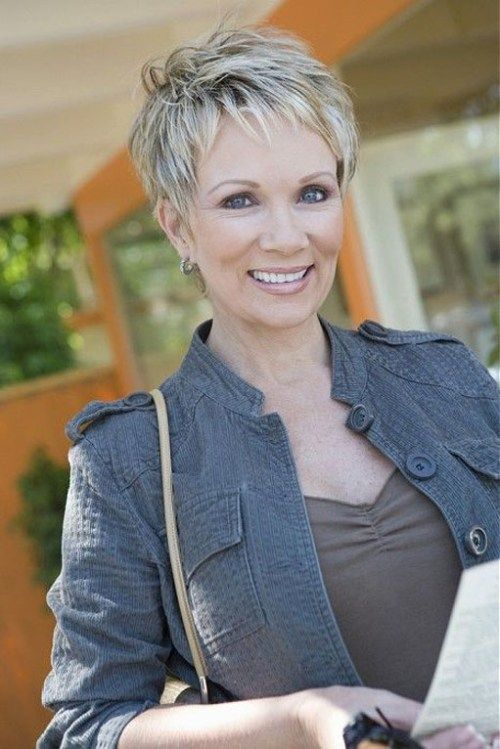 trumpas pixie hairstyle for women over 50