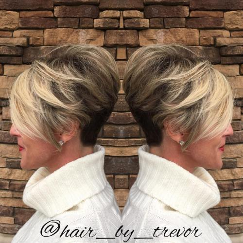 Du Tone Pixie With Nape Undercut