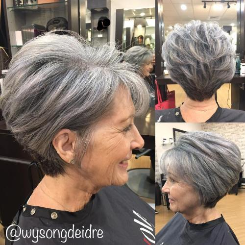Pilka Pixie Bob For Older Women