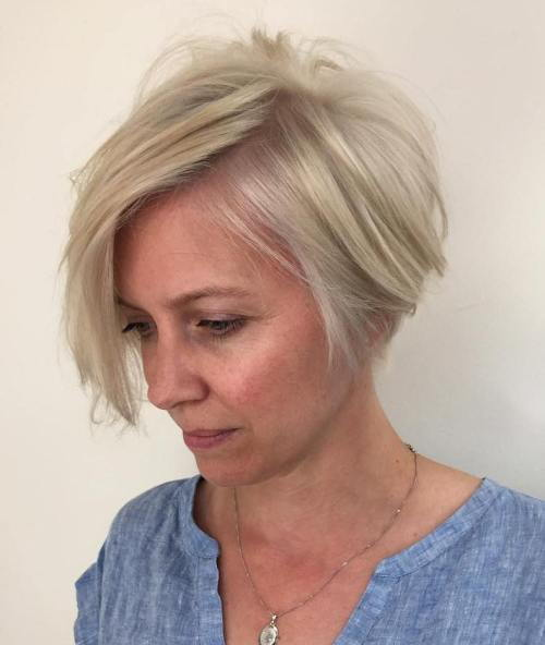 Pelenai Blonde Bob For Women Over 40