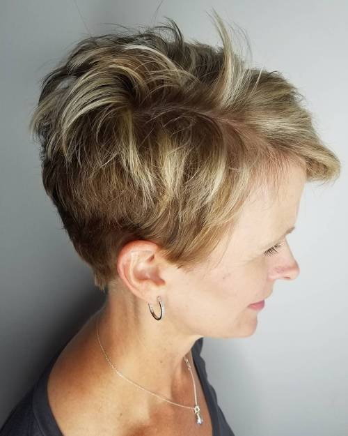Per Short Layered Pixie