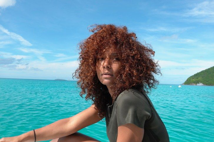 Janet Mock by water