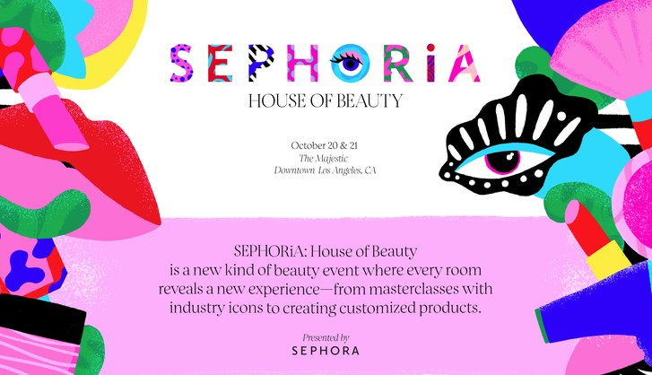 Sephora homepage screenshot