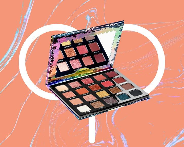 Violetinė Voss's Like A Boss Palette on a colorful background