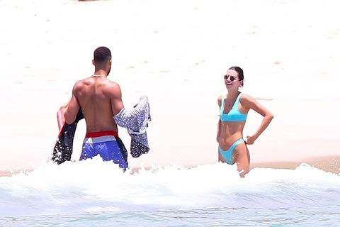 *IŠSKIRTINIS* Kendall Jenner joins Ben Simmons and Tristan Thompson for some jet skiing in Puerto Vallarta