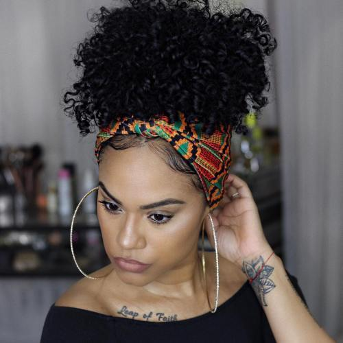 Chic Devascarf Hairstyle