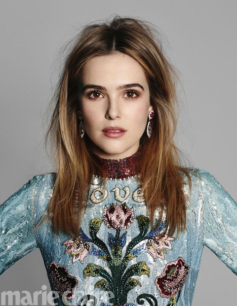 Zoey deutch marie claire fresh faces