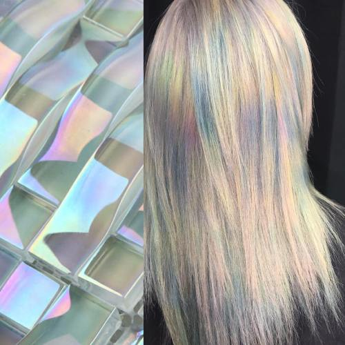 Lige Holographic Hair