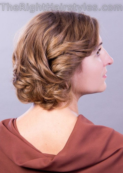 מְתוּלתָל hairstyle for short thin hair