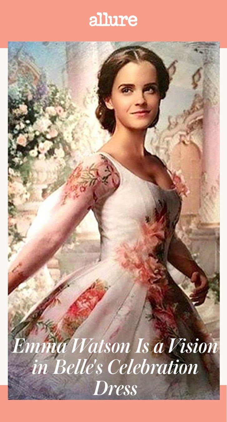 Skønhed and the Beast First Look: Emma Watson Is a Vision in Belle's Celebration Dress