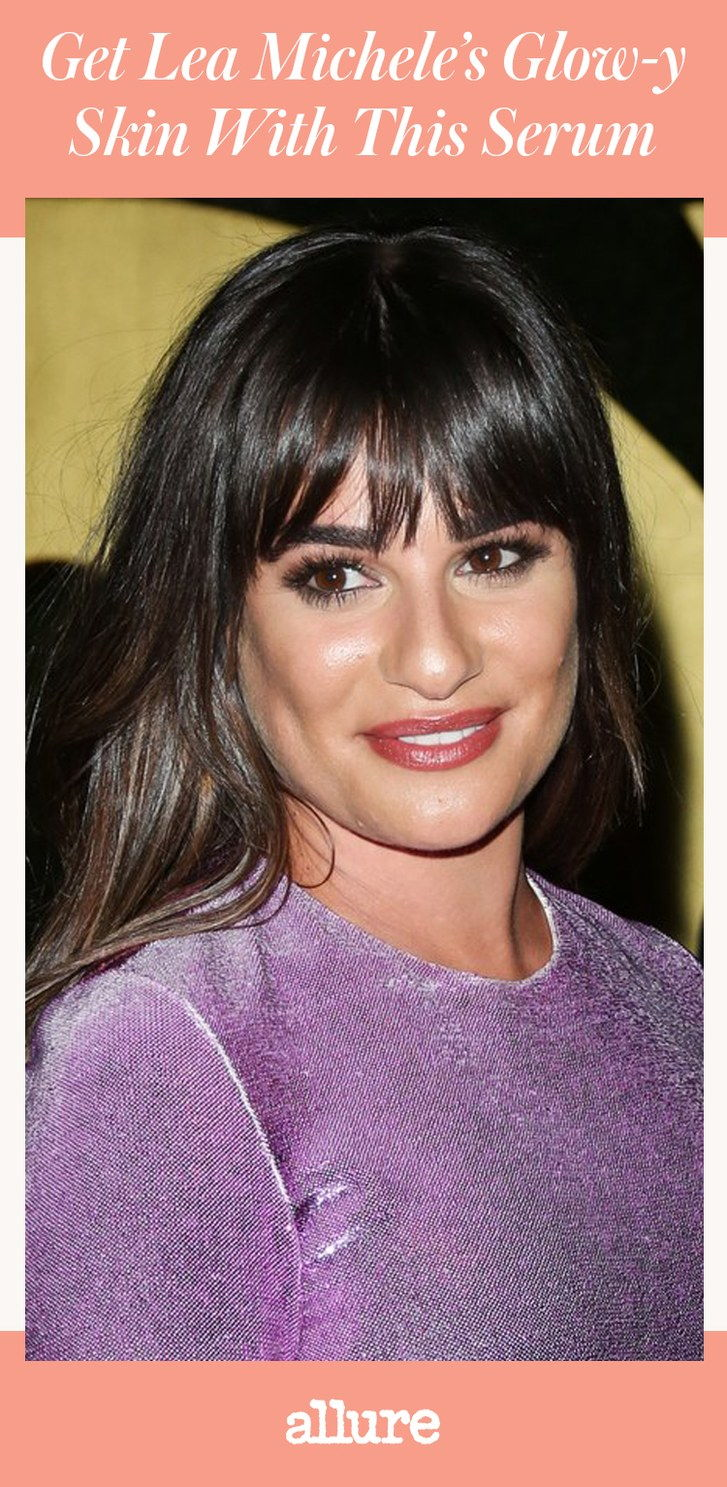 Dobiti Lea Michele's Glow-y Skin With This Super Serum