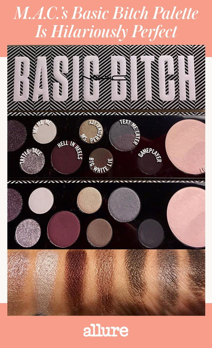 M.A.C. Basic Bitch Palette Is Hilariously Perfect
