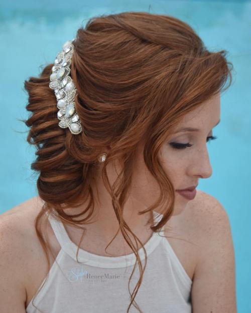Twisted Textured Updo